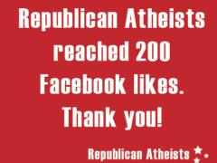 Republican Atheists Facebook