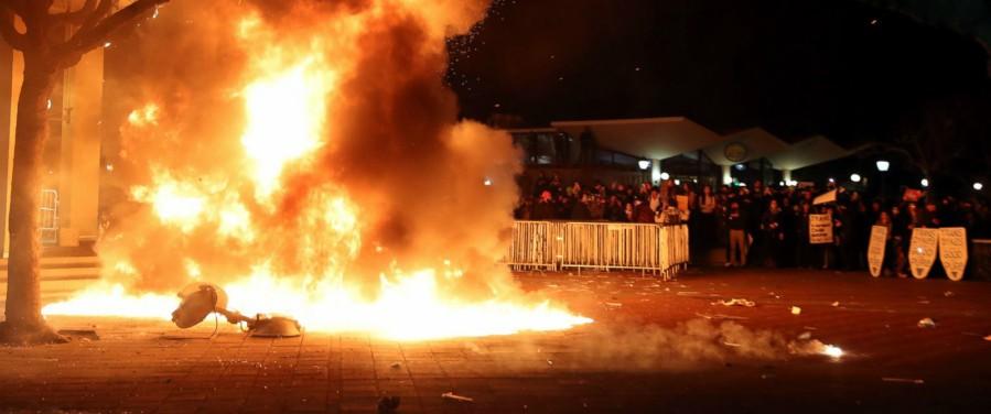 Berkeley riots Berkeley, CA