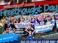 16th annual California Freethought Day