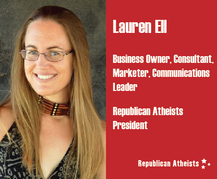 Republican Atheists President Lauren Ell
