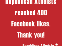 Republican Atheists Facebook social media