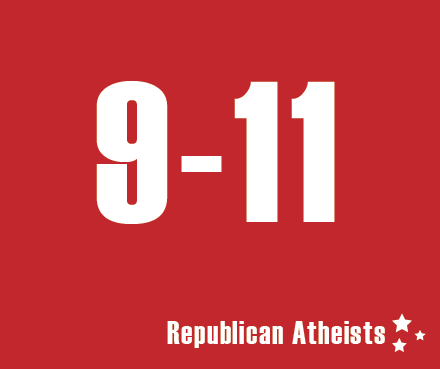 Republican Atheists in memory September 11