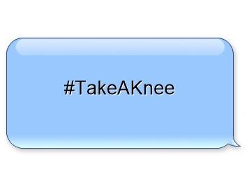 Take a knee football