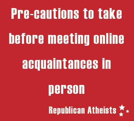 Meeting online acquaintances