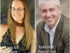 Lauren Ell Todd Huff Republican Atheists Freedom 95.9